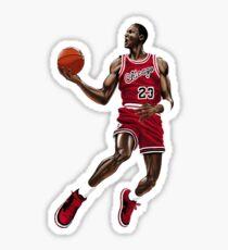Michael Jordan Slam Dunk 1 Sticker