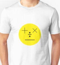 Mathematic emoticon Unisex T-Shirt