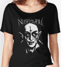 Black Metal Nosferatu Loose Fit T-Shirt