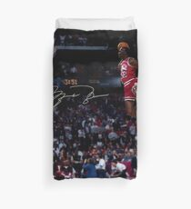 Michael Jordan Slam Dunk 2 Duvet Cover