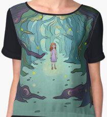 Firefly forest Women's Chiffon Top