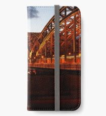 Cologne on the Rhine iPhone Wallet/Case/Skin