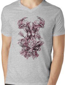 Jackalope Mens V-Neck T-Shirt
