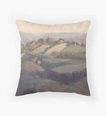 Castello delle Forme from San Valentino Throw Pillow