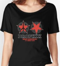 DROPKIX Women's Relaxed Fit T-Shirt