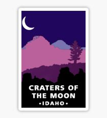 Craters of the Moon National Monument Idaho Travel Decal Sticker