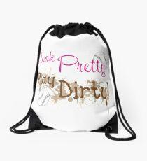 Dirty Softball Drawstring Bag