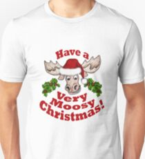 Moosy Christmas Unisex T-Shirt