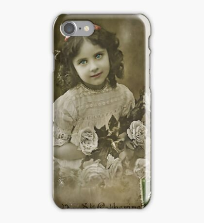 The Flower Girl iPhone Case/Skin