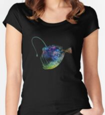 Angler Fish Women's Fitted Scoop T-Shirt