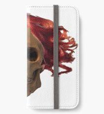 skull, cigarette, death, smoking kills iPhone Wallet/Case/Skin