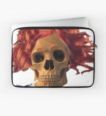 skull, cigarette, death, smoking kills Laptop Sleeve