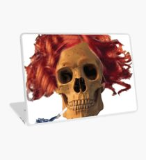 skull, cigarette, death, smoking kills Laptop Skin