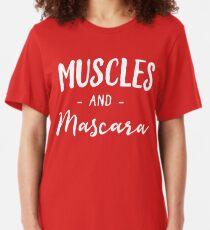 Muscles et Mascara T-shirt ajusté