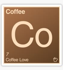Coffee Element Sticker