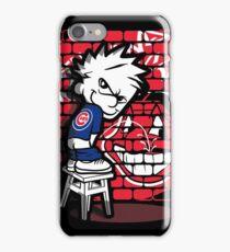 Chicago Cubs World Series 2016 Cleveland Sucks iPhone Case/Skin