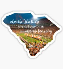 Where the Blue Ridge Yawns its Greatness Sticker