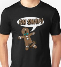 Gingerbread Man Oh Snap T-Shirt