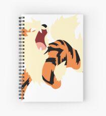 Arcanine Spiral Notebook