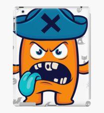 Lustiges Monster iPad-Hülle & Klebefolie