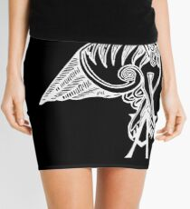 Buffy the Vampire Slayer - Angel's Tattoo (white) Mini Skirt