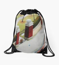 Small World Drawstring Bag