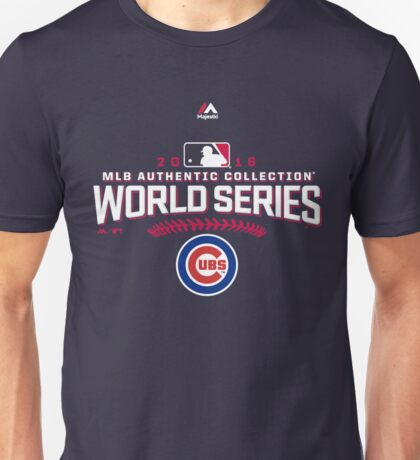 CHICAGO CUBS WORLD SERIES Unisex T-Shirt