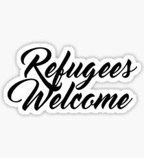 Refugees Welcome Sticker