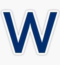 Chicago Cubs W  Sticker
