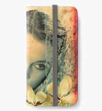 Scarlett Leigh with Magnolias from Tara iPhone Wallet/Case/Skin