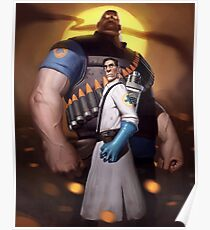 Allied Forces - Team Fortress 2 Poster