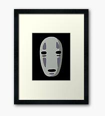 No Face Framed Print