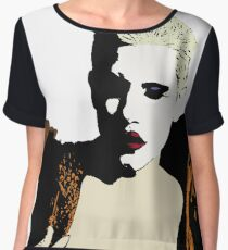 Sharon Needles Chiffon Top