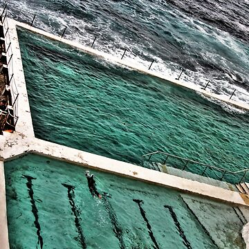 Bondi Icebergs - Bondi Beach by skinburn
