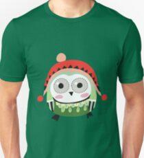 Cute Winter Owl  Unisex T-Shirt