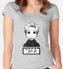 Taka (ONE OK ROCK) Women's Fitted Scoop T-Shirt