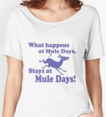 Mule Day Women's Relaxed Fit T-Shirt
