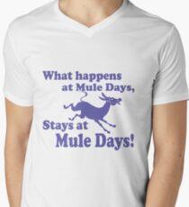 Mule Day Men's V-Neck T-Shirt