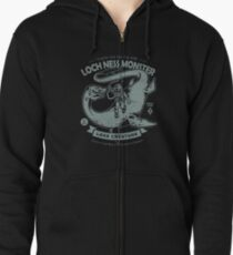 Lochness Monster - Cryptids Club Case file #200 Zipped Hoodie