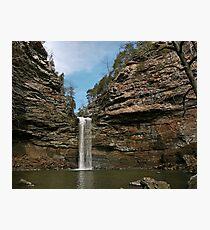 Cedar Creek Falls, Petit Jean Photographic Print