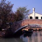 Bridge, Torcello. by Maggie Hegarty