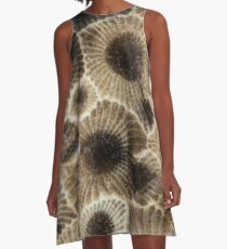 Petoskey Stone  A-Line Dress