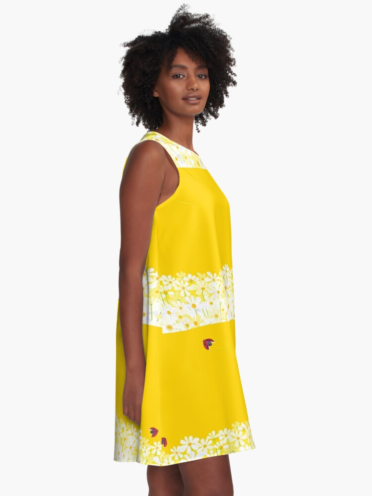 Alternate view of Daisies A-Line Dress