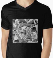 MC Escher Men's V-Neck T-Shirt