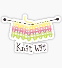 Knit Wit Sticker