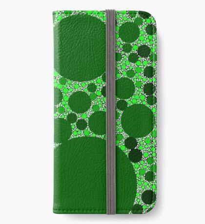 Random Tiling Greener iPhone Wallet