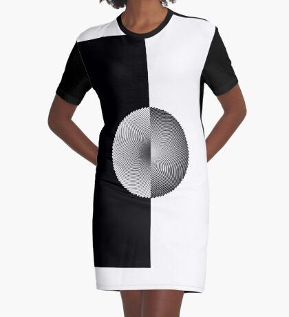 Spiral I - T Graphic T-Shirt Dress