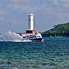 Jet Ferry (Star Line) to Mackinac Island by Brian104