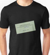 John Constantine's Business Card T-Shirt