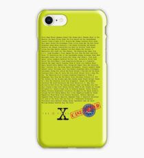 X Files - All Episodes iPhone Case/Skin